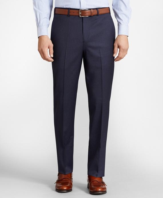 BrooksFlex™ Regent-Fit Wool Trousers Blue