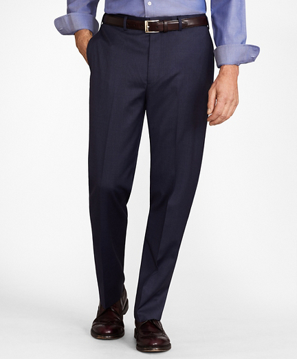 BrooksFlex™ Madison-Fit Wool Trousers