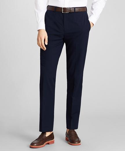 Regent Fit Seersucker Trousers