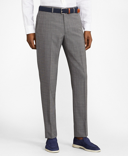 Milano Fit BrooksCool® Micro-Check Trousers
