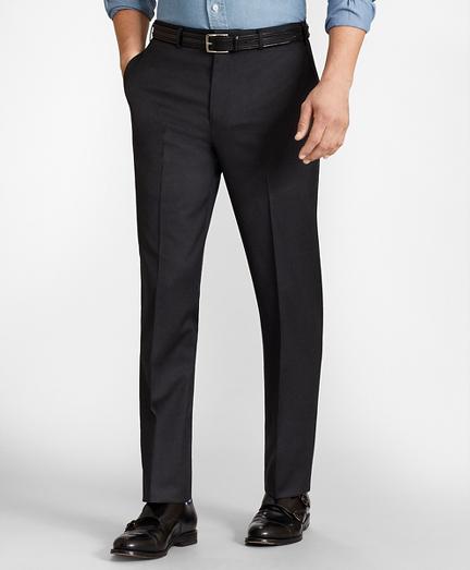 BrooksFlex™ Regent-Fit Wool Trousers, Unfinished Hem
