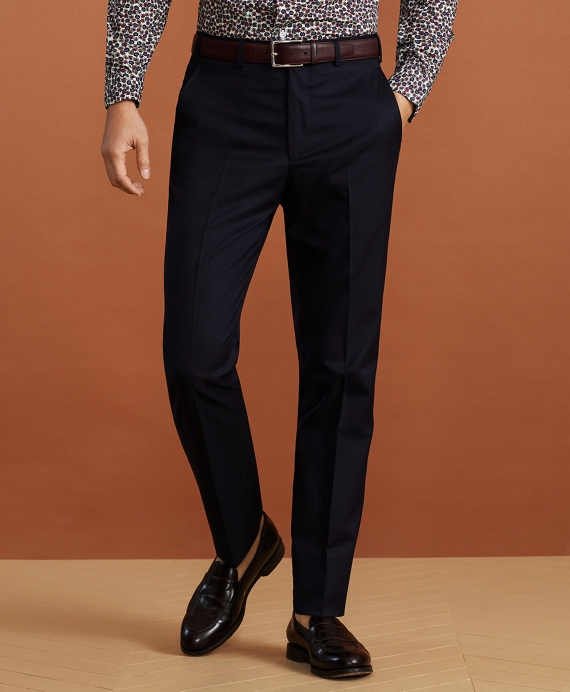 Golden Fleece® Sea Island Cotton Chino Trousers Navy