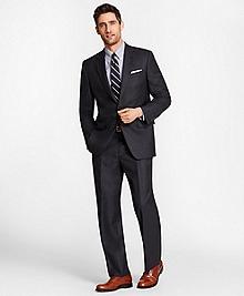 Madison Fit Saxxon Wool Navy Tic 1818 Suit