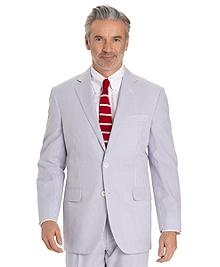 Seersucker Madison Fit Suit