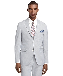 Cambridge Fit Navy and White Pincord Suit