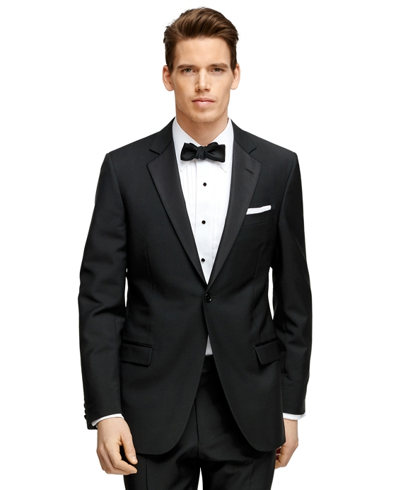 Fitzgerald Fit One-Button 1818 Tuxedo Black