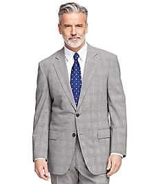 Madison Fit BrooksCool® Plaid Suit