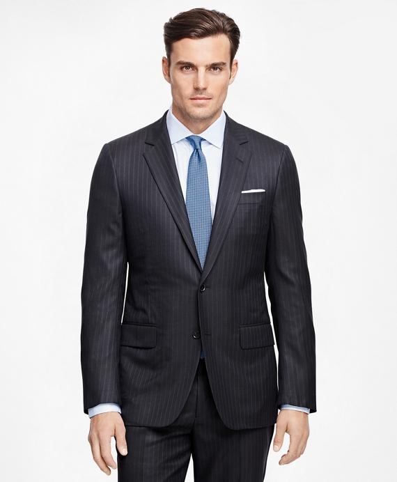 Fitzgerald Fit Golden Fleece® Multistripe Suit Navy
