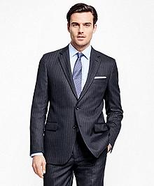 Fitzgerald Fit Saxxon Wool Alternating Stripe 1818 Suit