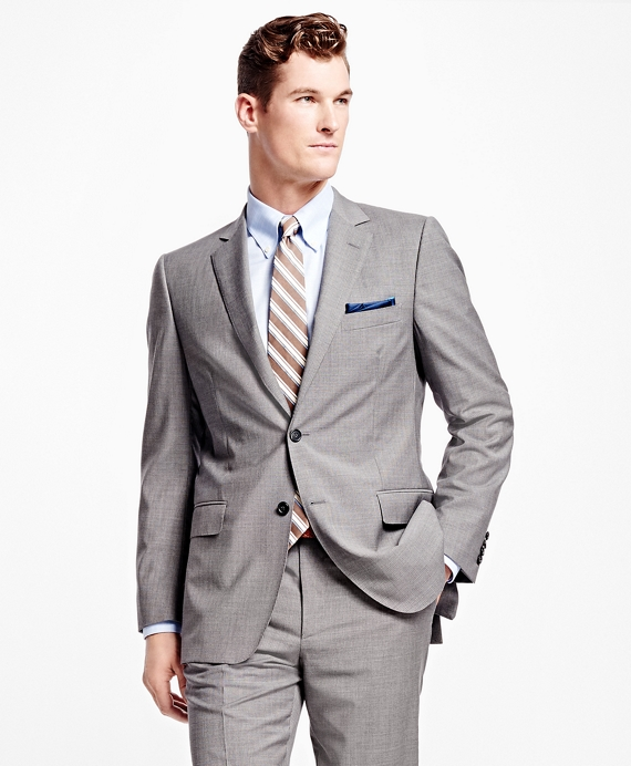 Fitzgerald Fit Multi Stripe 1818 Suit Grey