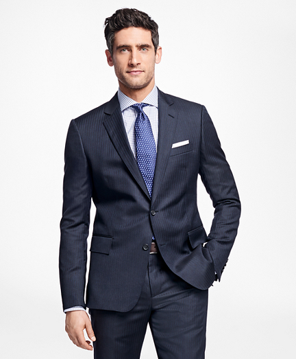 Regent Fit Multi-Stripe 1818 Suit
