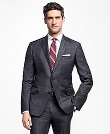 Regent Fit Tic with Double Windowpane 1818 Suit