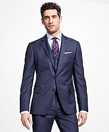 Regent Fit Three-Piece Slim Stripe 1818 Suit