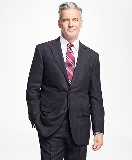 Golden Fleece® Madison Fit Alternating Stripe Suit