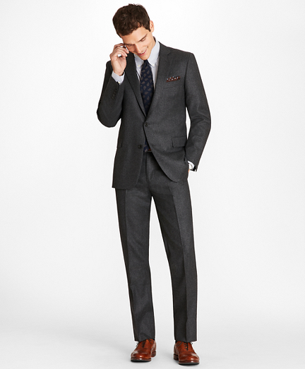 Regent Fit Stretch Flannel 1818 Suit