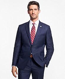 Regent Fit Saxxon Wool Stripe 1818 Suit