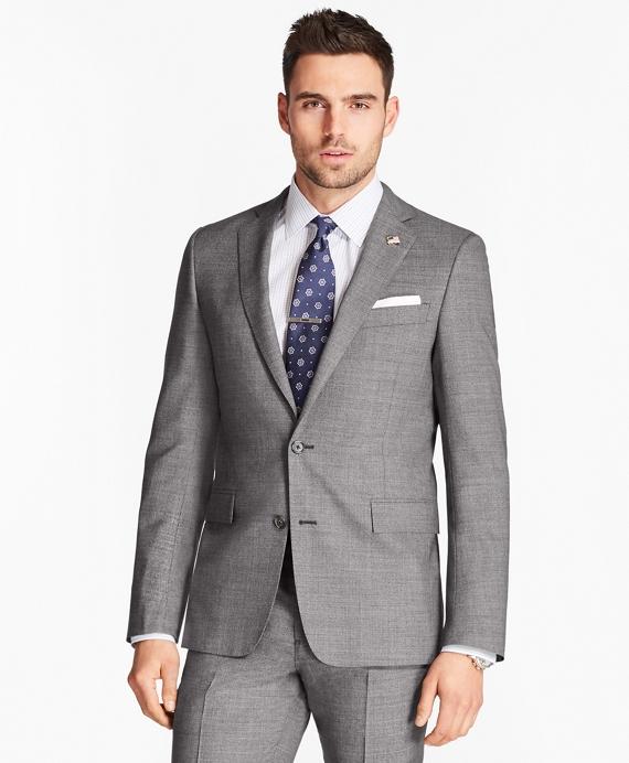 Regent Fit Grey Neat 1818 Suit Grey