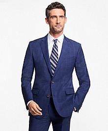 Regent Fit Plaid with Overcheck 1818 Suit
