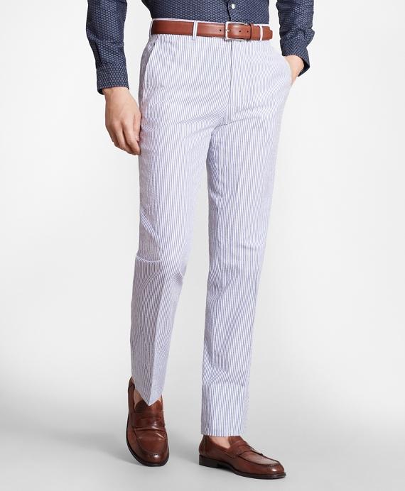 Regent Fit Stripe Seersucker Suit Brooks Brothers
