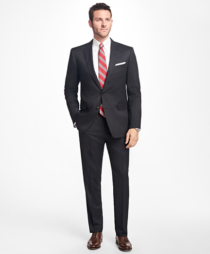 Brooksbrothers Regent Fit Stretch Wool Two-Button 1818 Suit