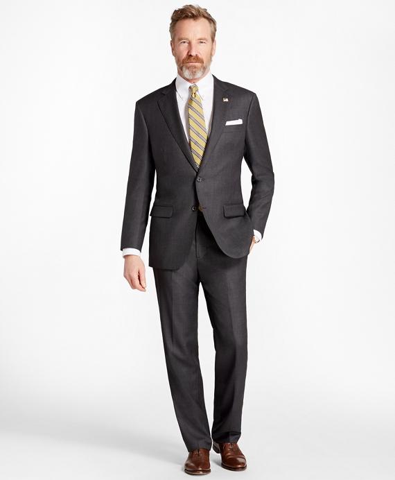 f598c2b109 Madison Fit Saxxon™ Wool Neat 1818 Suit - Brooks Brothers