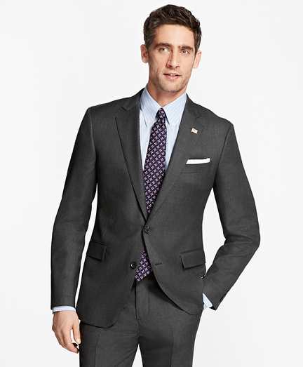 Regent Fit Saxxon Wool Neat 1818 Suit