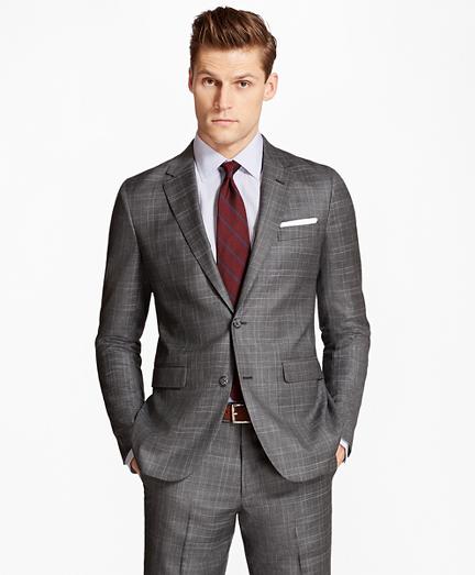 Milano Fit Multi-Plaid 1818 Suit