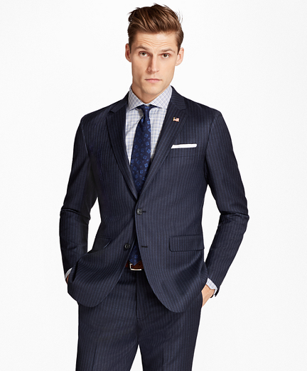 Milano Fit Stripe 1818 Suit