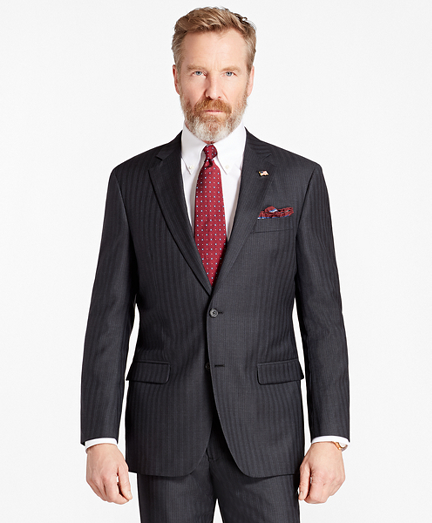 Madison Fit Double-Stripe 1818 Suit