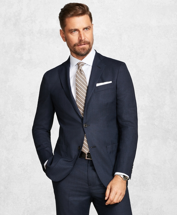 Golden Fleece® BrooksCloud™ Blue Neat Suit Blue