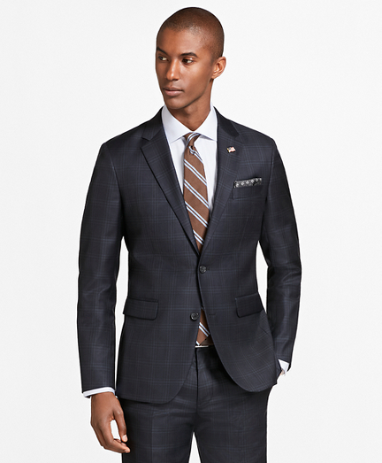 Milano Windowpane 1818 Suit