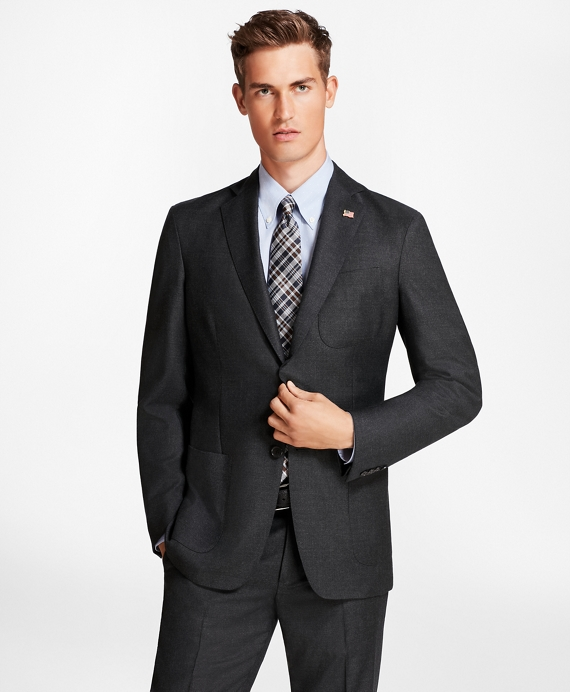 Regent Fit BrooksCloud™ Neat 1818 Suit Charcoal