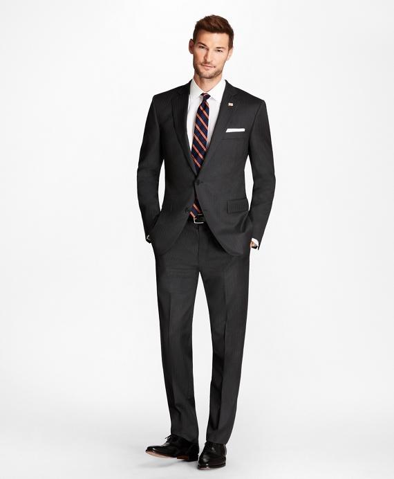 Regent Fit Grey Herringbone 1818 Suit Grey