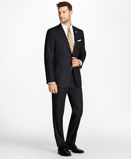Regent Fit Blue Herringbone 1818 Suit