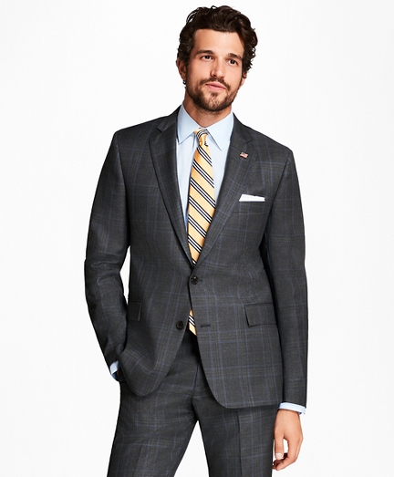 Regent Fit Plaid with Deco 1818 Suit