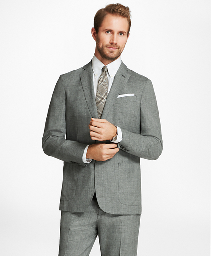 Regent Fit BrooksCloud™ Grey Suit