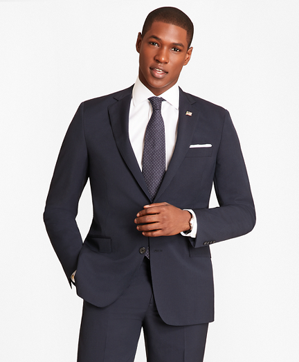 Regent Fit Vertical Stripe 1818 Suit