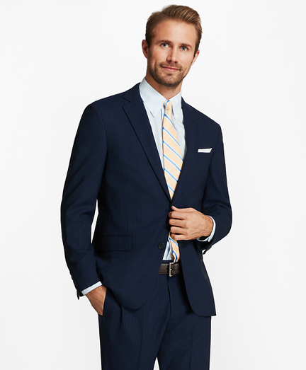 Regent Fit BrooksCool® Track Stripe Suit