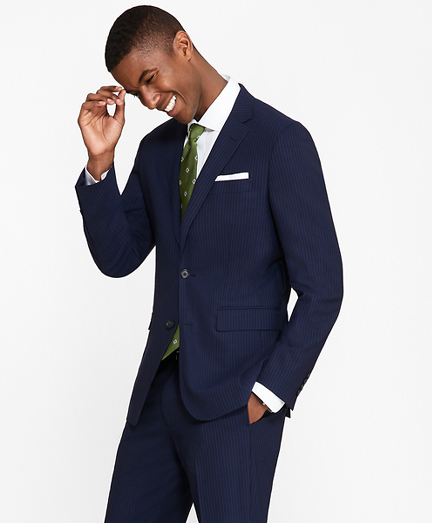 Milano Fit BrooksCool® Track Stripe Suit