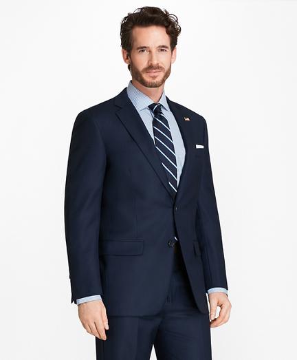 Madison Fit Saxxon™ Wool Bird's-Eye 1818 Suit