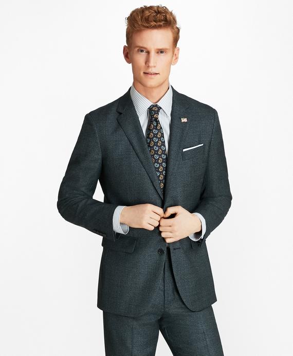 Milano Fit Mini-Check 1818 Suit Blue