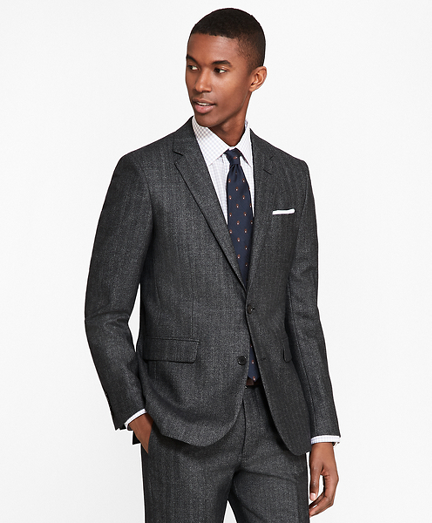 Milano Fit Herringbone 1818 Suit