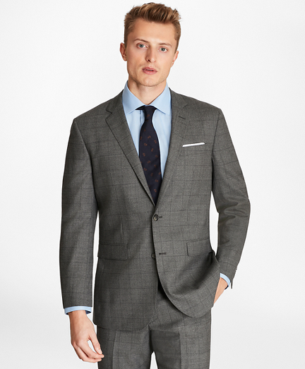 Milano Fit Windowpane 1818 Suit