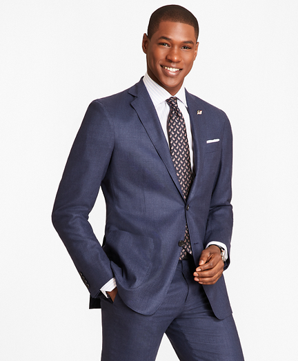 Regent Fit BrooksCloud™ Check 1818 Suit