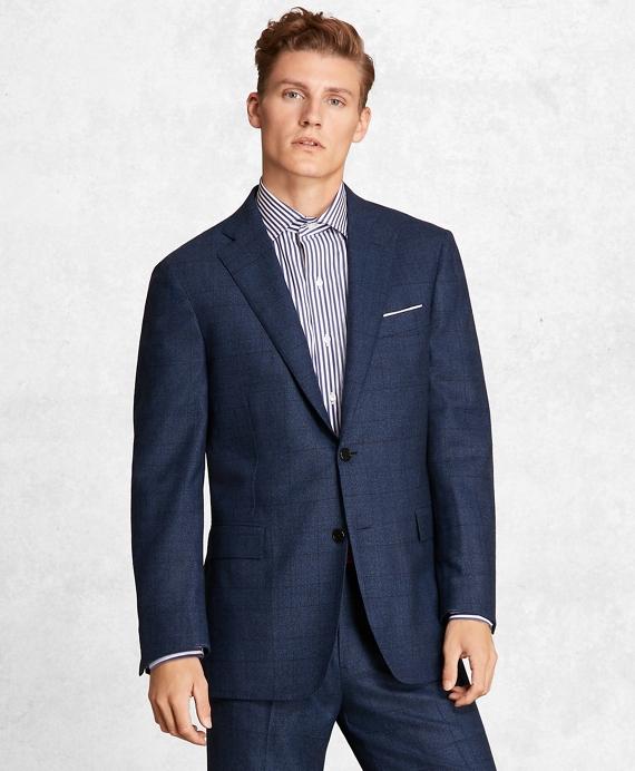 Golden Fleece® BrooksCloud™ Wool Twill Suit Blue