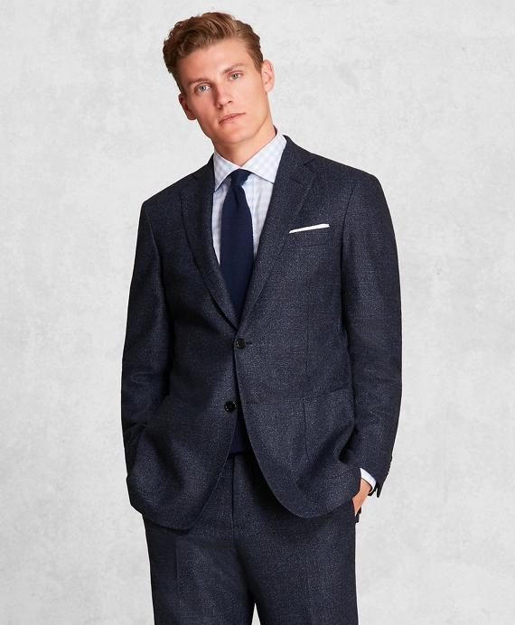Golden Fleece® Plaid Wool Flannel Suit BLUE