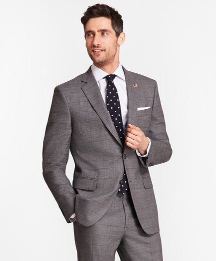 Madison Fit Windowpane 1818 Suit