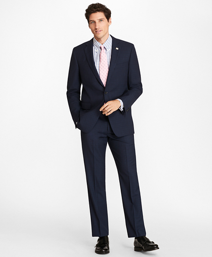 Regent Fit  Textured Weave 1818 Suit