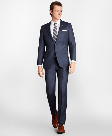 Milano Fit Plaid 1818 Suit