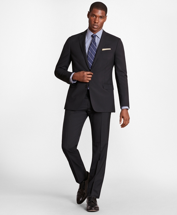 BrooksGate™ Regent-Fit Wool Suit Jacket Black